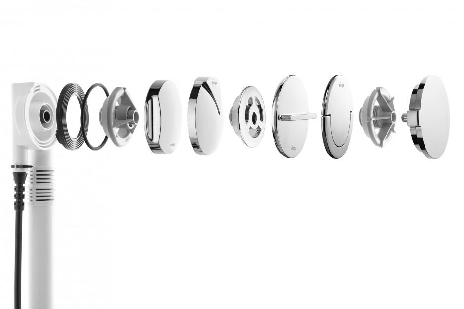 Komplety odpływowo-przelewowe do wanien od Viega