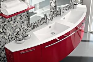 Aranżujemy Czerwone Meble Do łazienki Zobacz 10