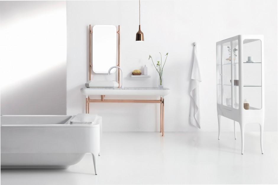 Łazienka dla nowoczesnej elegantki – zobacz pomysły na wnętrze glamour