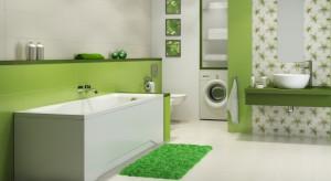 Roślinne dekoracje i kolor soczystej zieleni – płytki ceramiczne inspirowane przyrodą