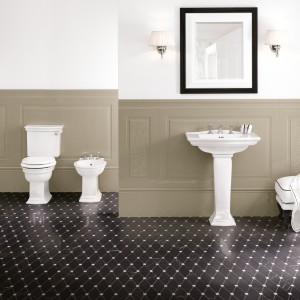 Łazienka w stylu angielskim – piękne aranżacje nie tylko dla koneserów