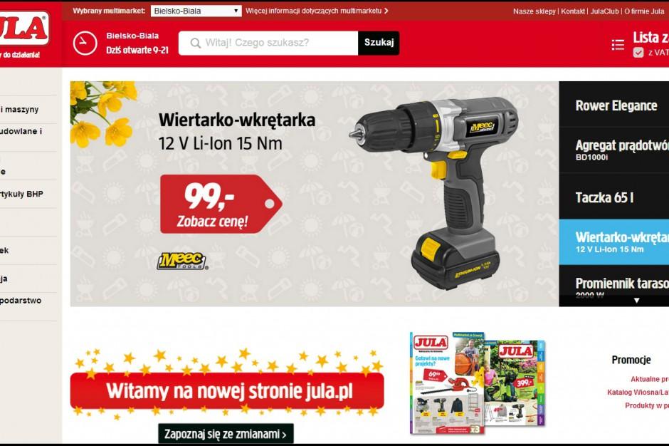 Nowa odsłona strony internetowej Jula