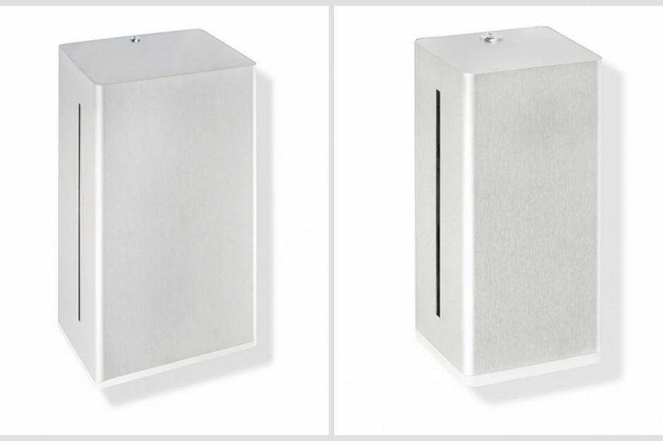 Nowe podajniki mydła i ręczników papierowych