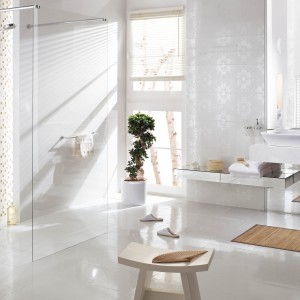 Najpiękniejsze białe płytki ceramiczne – zobacz nowe kolekcje