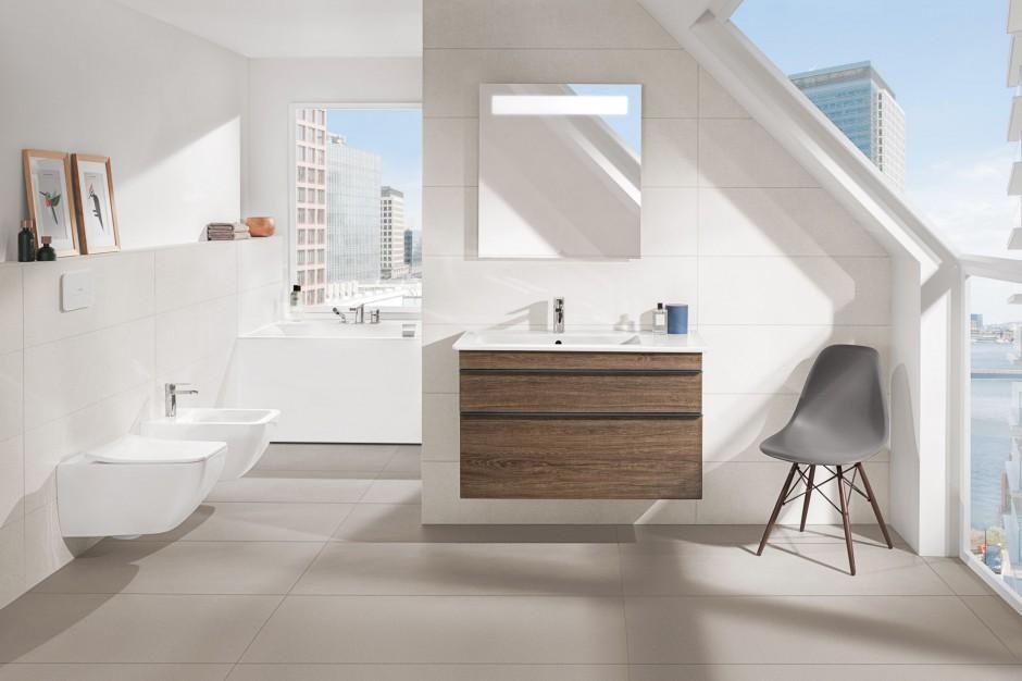 Inspirowana miastem – nowoczesna i stylowa łazienka