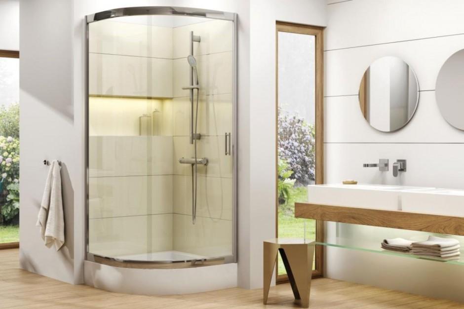 Vanilla - nowa półokrągła kabina prysznicowa
