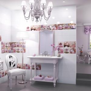 Elegancka łazienka w stylu Audrey Hepburn. Zobacz 10 pomysłów na aranżację