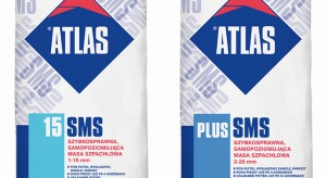 SMS - szybkosprawne masy samapoziomujące od Atlasa