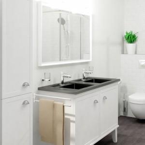 Białe meble do łazienki. 12 nowoczesnych kolekcji