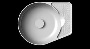 Laufen w Londynie pokazuje umywalki z nowego materiału