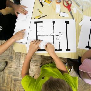 O tym jak 6-latki (razem z architektami) projektowały łazienkę