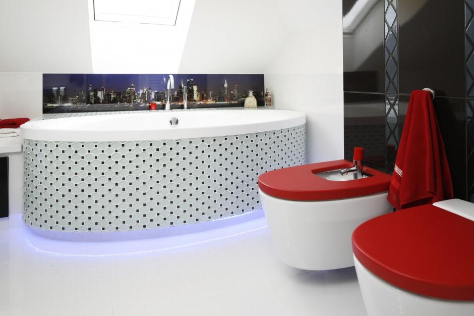 Radzimy Biała łazienka Ożywiona Kolorem Najlepsze