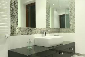 Aranżujemy łazienka W Kamieniu łupek Mozaika I Narożne