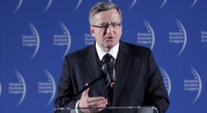 Prezydent RP Bronisław Komorowski gościem specjalnym Wschodniego Kongresu Gospodarczego. Początek już jutro