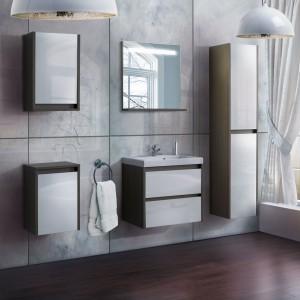 Nowoczesne meble do łazienki: zobacz kolekcje bezuchwytowe