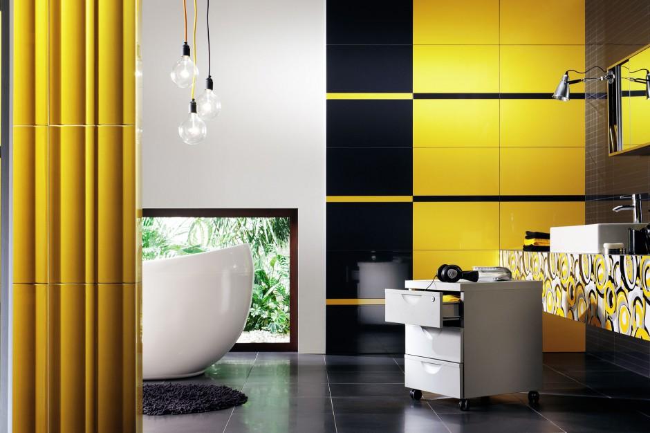 Belante, Bilobi i Yellow - trzy nowe jesienne kolekcje płytek łazienkowych