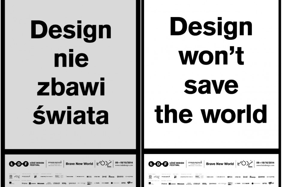 Wystartował Łódź Design Festival 2014