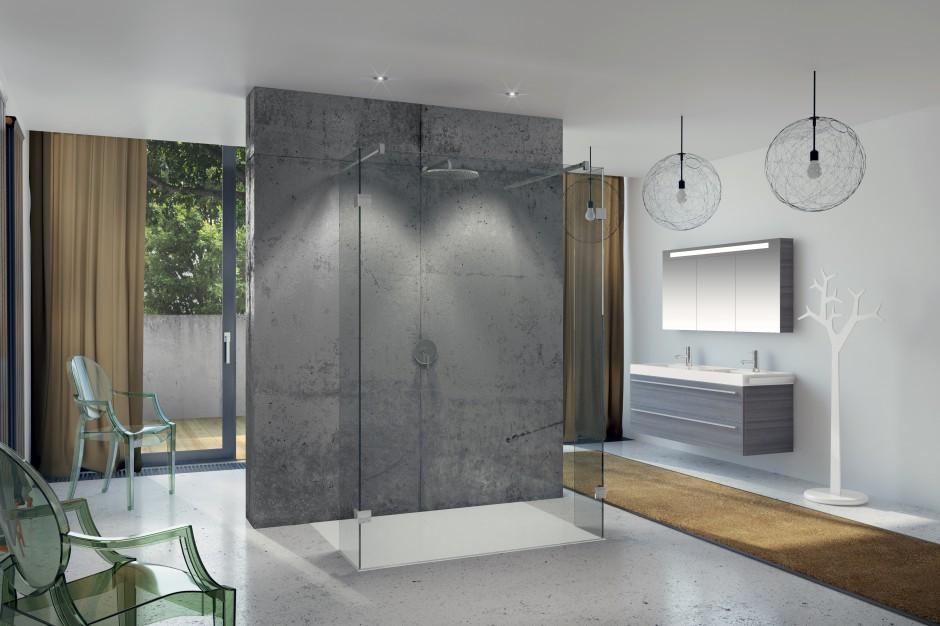 Modna łazienka: wnętrza w stylu loft