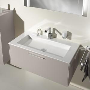 Modne szafki pod umywalkę. 10 nowych kolekcji w  kolorze cappuccino