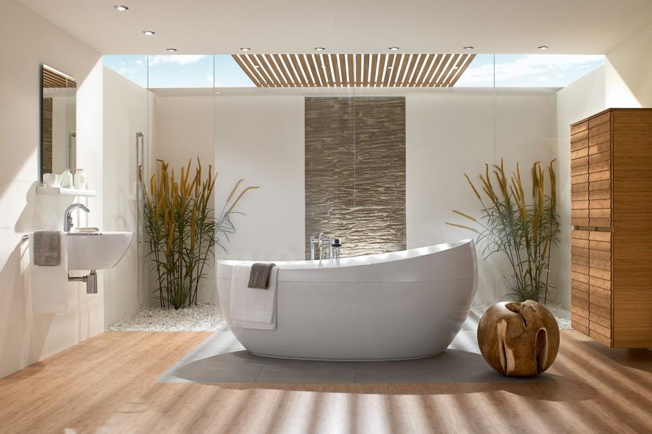 Zieleń w łazience – postaw na prawdziwy relaks