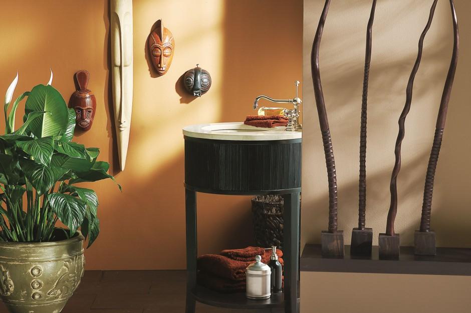 Farby do łazienki – wnętrza w kolorach jesieni