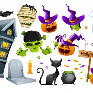 Łazienka na Halloween: 12 pomysłów z przymrużeniem oka
