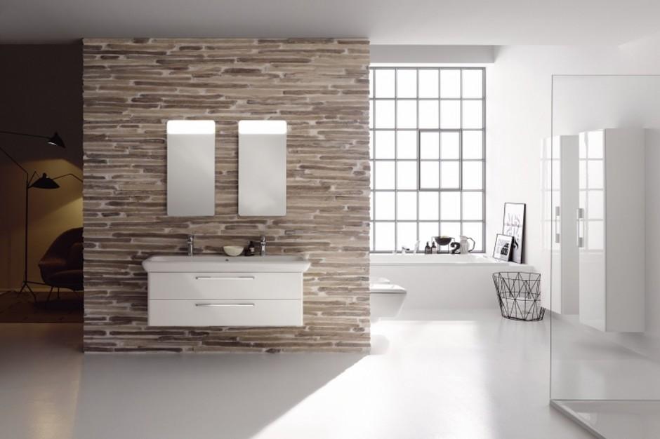 Cegła do łazienki – zobacz jak można dekorować wnętrze