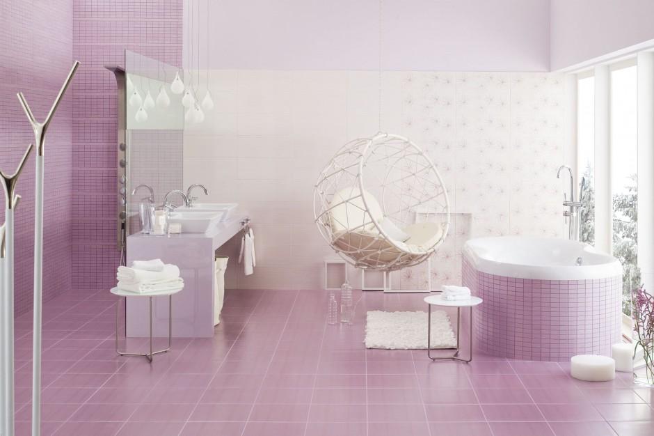 Różowe płytki ceramiczne – 12 pięknych kolekcji