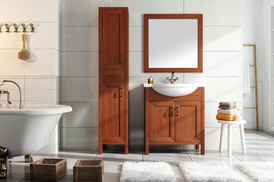 Łazienka ocieplona drewnem – piękne i modne wnętrza