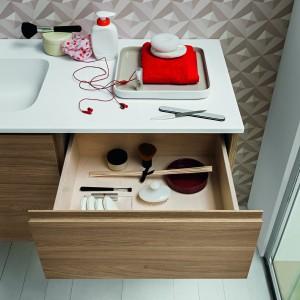 Szafki z szufladami na kosmetyki: 12 praktycznych modeli