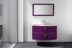 Inspirujemy Fiolet Do łazienki Ten Kolor Jest Modny