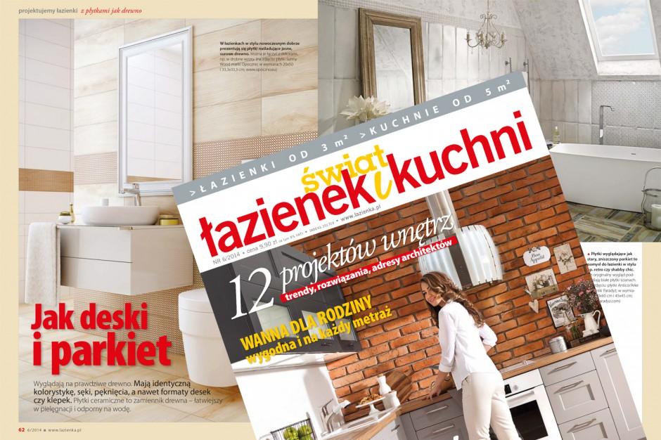 """Najnowszy """"Świat Łazienek i Kuchni"""" już w sprzedaży!"""