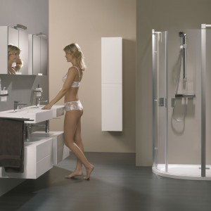 Łazienka w szarościach – zobacz najmodniejsze wnętrza