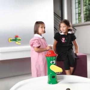 Kolorowe baterie umywalkowe. To jest modne!