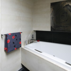 Łazienka pod skosami – piękne wnętrze dla dwojga