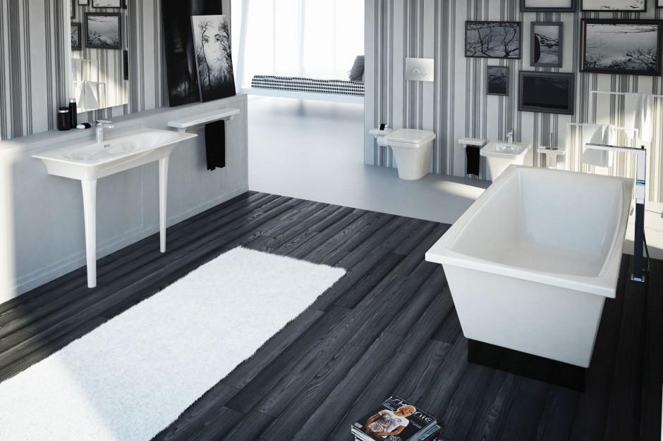 Konsole umywalkowe – zobacz 10 wyjątkowych modeli