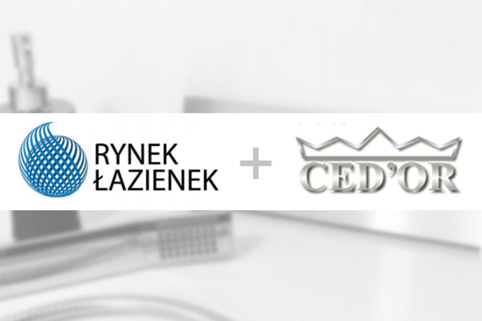 Ced'or został partnerem portalu RynekLazienek.pl