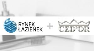 Ced'or partnerem portalu RynekLazienek.pl