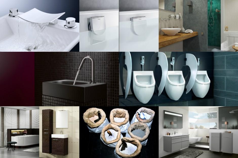 Nowości do łazienki - zobacz co pojawiło się na rynku w 2014 roku
