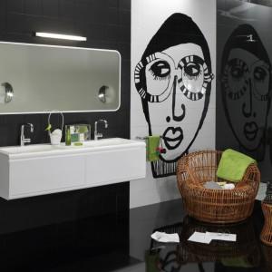 W miejskim stylu – 10 najciekawszych pomysłów do łazienek pop-art