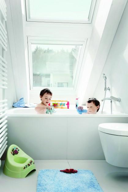 Radzimy Okna Dachowe Jakie Wybrać Do łazienki Na Piętrze