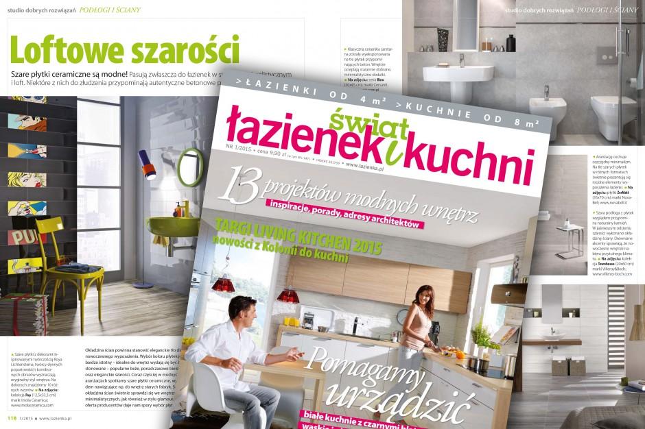 """Magazyn """"Świat Łazienek i Kuchni"""" - najnowszy numer już w sprzedaży!"""