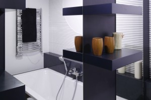 Mała łazienka przy sypialni – tu rządzi nowoczesność