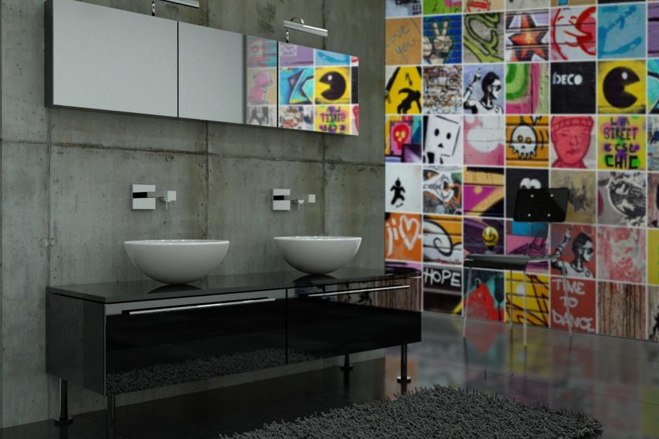 Łazienka w stylu punk – zobacz pomysły na oryginalne wnętrza