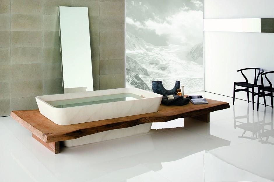 Drewno na maksa! Wizualne ocieplenie w łazience