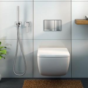Baterie z rączką typu bidetta: rozwiązanie do małej łazienki