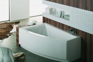Wanny do małej łazienki – 12  modeli do wnęki lub narożnika