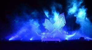 Happening Jaga podczas festiwalu Wikingów