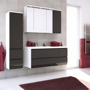 Kolorowe meble do łazienki – 12 najmodniejszych zestawów