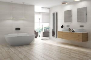 Białe płytki do łazienki – zobacz najpiękniejsze kolekcje